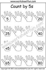 Count By 5 Worksheets Printable Free 10 One Worksheet Printable Worksheets