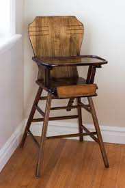 Antique Wooden High Chair Do It Yourself Divas Diy Refinish An Antique Highchair
