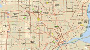 Warren Michigan Map by Dte Energy Power Outage Map Thousands Without Power Due To