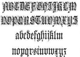 cursive script fonts