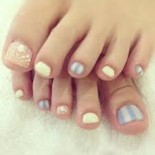 roses pedicure designs cute and easy to toe nail art designs www