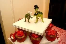 dinosaur wedding cake topper chao photo dinosaur cake toppers