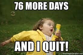 Fat Girl Running Meme - 76 more days and i quit little fat girl running playing meme
