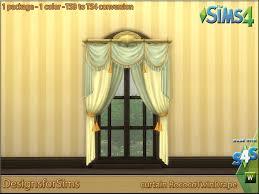 ts3 to ts4 conversion u2013 curtain rococo twin drape designs for