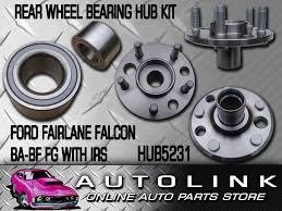 rear wheel bearing hub kit suit ford falcon fairlane ba bf fg 6cyl