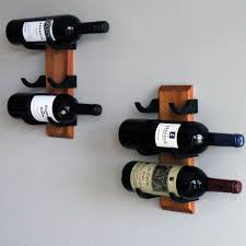 3 wood wine rack