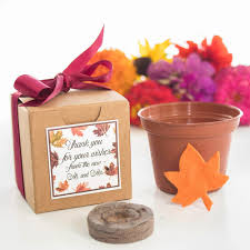 C Favors by Plantable Seed Wedding Favors Flower Seed Favors