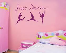 online get cheap just dance package aliexpress com alibaba group mad world just dance silhouette wall art stickers decal home diy decoration wall mural removable
