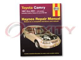 toyota avalon haynes repair manual xls shop service garage book zs