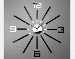 silent wall clock etsy