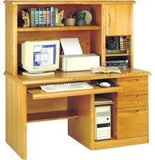 marvelous computer desk hutch ideas with also a oak only