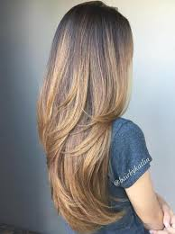 back of hairstyle cut with layers and ushape cut in back 80 cute layered hairstyles and cuts for long hair in 2018