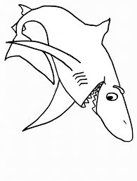 Animal Fruit Coloring Pages Pictures Of Sharks To Colour In Coloring Pages Sharks Printable