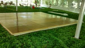 Wooden Tent by Portable Parquet Dance Floor Rental Iowa City Cedar Rapids