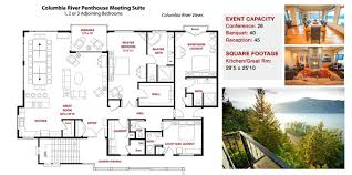 Italian Villa Floor Plans Columbia Cliff Villas Luxury Hood River U0026 Columbia River Gorge Hotel