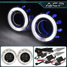nissan maxima xenon headlights for nissan headlight retrofit projector bi xenon dual ccfl halo