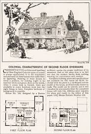 colonial revival house plans 1935 garrison colonial revival home journal house plans