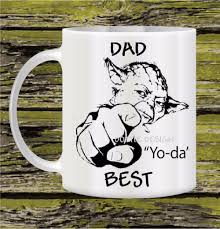 dad yoda best mug star wars mug yoda mug personalized mug funny