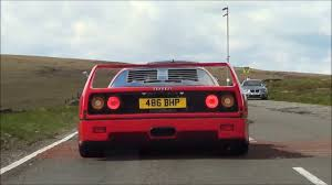 f40 bhp the sound f40 on the road