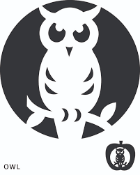 Free Scary Halloween Pumpkin Stencils - best 25 owl pumpkin stencil ideas on pinterest owl pumpkin