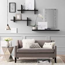 Wood Wall Living Room Living Room Modern Shelving Ideas Contemporary Creative Shelving