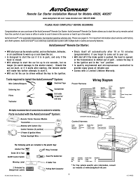 directed electronics autocommand 40026t installation manual