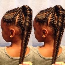 hair pony tail for african hair 70 best black braided hairstyles that turn heads black girls