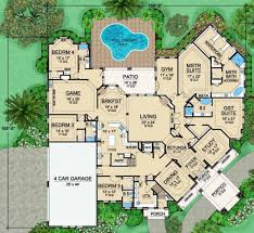 mira vista luxury home blueprints residential house plan