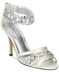 wedding shoes at macys lyst adrienne vittadini gabrielle two evening sandals in