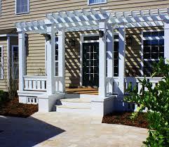 Wood For Pergola by Expert Advice Paint Stain Or Leave Pergolas And Other Outdoor