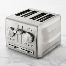 Cuisinart 4 Slice Toaster Review Cuisinart Custom Select 4 Slice Toaster Williams Sonoma