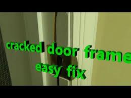 Replace Exterior Door Frame Kicked In Door Frame Repair