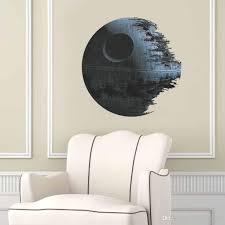 2016 star wars wall sticker 3d death star wallpaper 45 45cm
