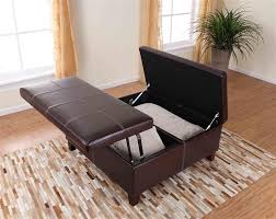 Leather Top Ottoman Dorel Asia Denton Storage Ottoman With Lift Top And Hinge Top