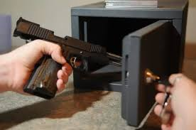 best place to buy gun cabinets top handgun safes for fast and easy access 2020