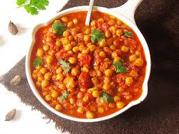 cuisine indienne vegetarienne curry indien de pois chiches recettes bio et green lifestyle le