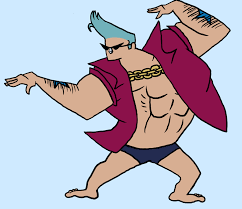 johnny bravo franky bravo johnny bravo funny one piece pinterest