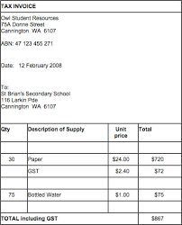australian invoice template resumess franklinfire co