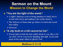 you are the light of the world sermon the gospel of matthew 3 jesus debut authority and compassion