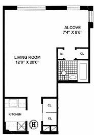 Studio Floor L L Shaped Studio Apartment