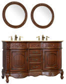 58 Double Sink Vanity 50 To 59 Inch Vanities Makeup Sink Vanity Large Sink Vanity