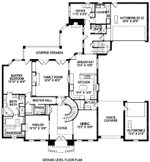 Brick Colonial House Plans by Main Floor Plan Porte Cochere Home Pinterest House
