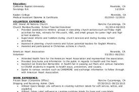 Volunteer Work Examples For Resume by Volunteer Experience Resume The Answer To Volunteer Experience