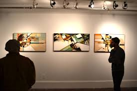 modern ideas art gallery wall bright inspiration three square