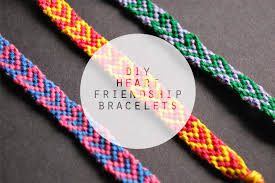 diy bracelet string images Diy heart friendship bracelets jpg