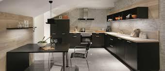 Cuisine Porte Effet Touch Galerie Avec Cuisine Noir Cuisine Mat Collection Avec Inspirations Avec Cuisine