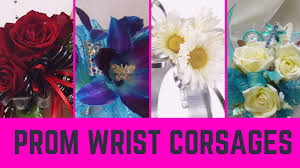 Corsages For Homecoming Wrist Corsage For Prom Flower Corsages For Arm Youtube
