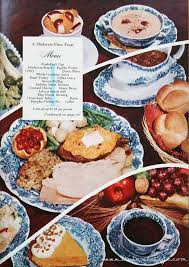 livin vintage vintage thanksgiving menu a moderate price feast