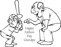 fathers day coloring pages for grandpa happy fathers day images