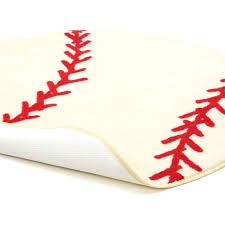 Sports Area Rug Rugs Shape High Pile Baseball Sports Area Rug Reviews